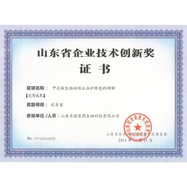技术创新二等奖